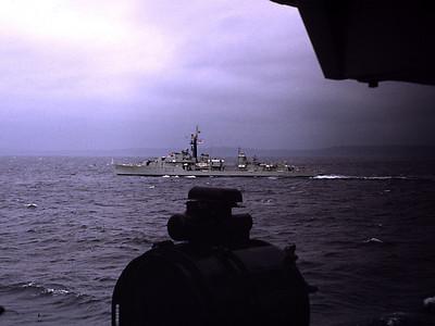 HMS Cavalier from Caprice 1972