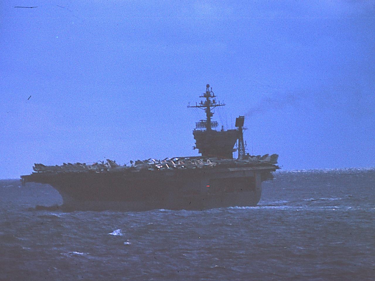 USS JFK: Arctic, Oct 1973