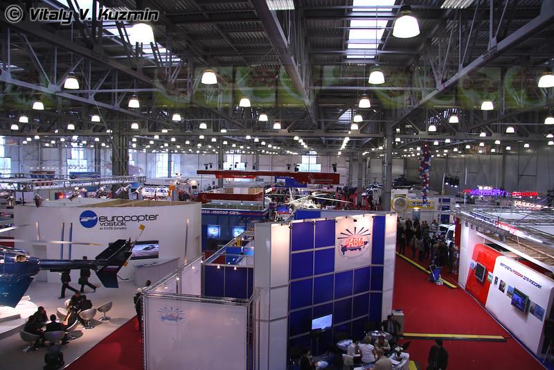 Общий вид на павильон (Exhibition hall)