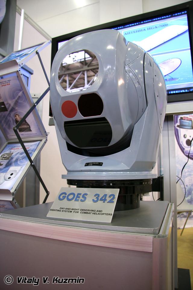 Обзорная и прицельная система ГОЭС-342 (GOES-342)