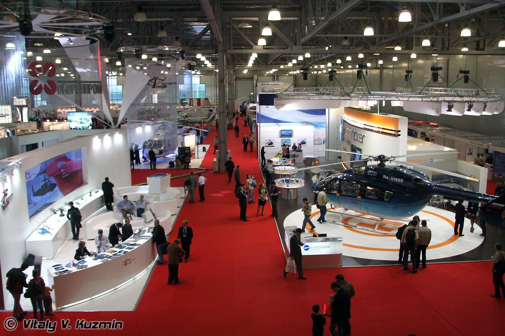 Выставочный павильон (Exhibition hall)