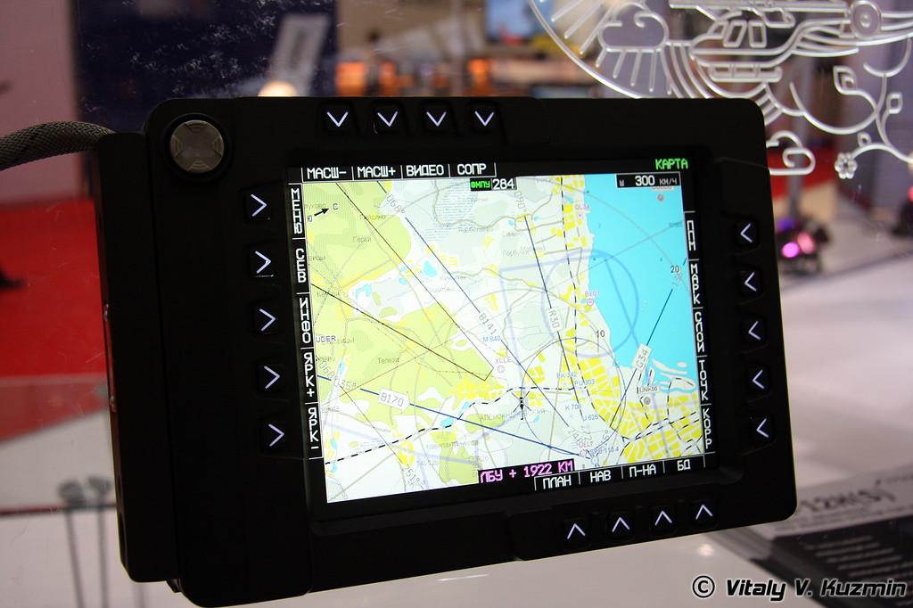 TDS-84 многофункциональный индикатор (TDS-84 multifunctional display)