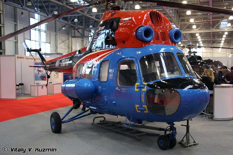 Восстановленный на МАРЗ Ми-2 (restored Mi-2)