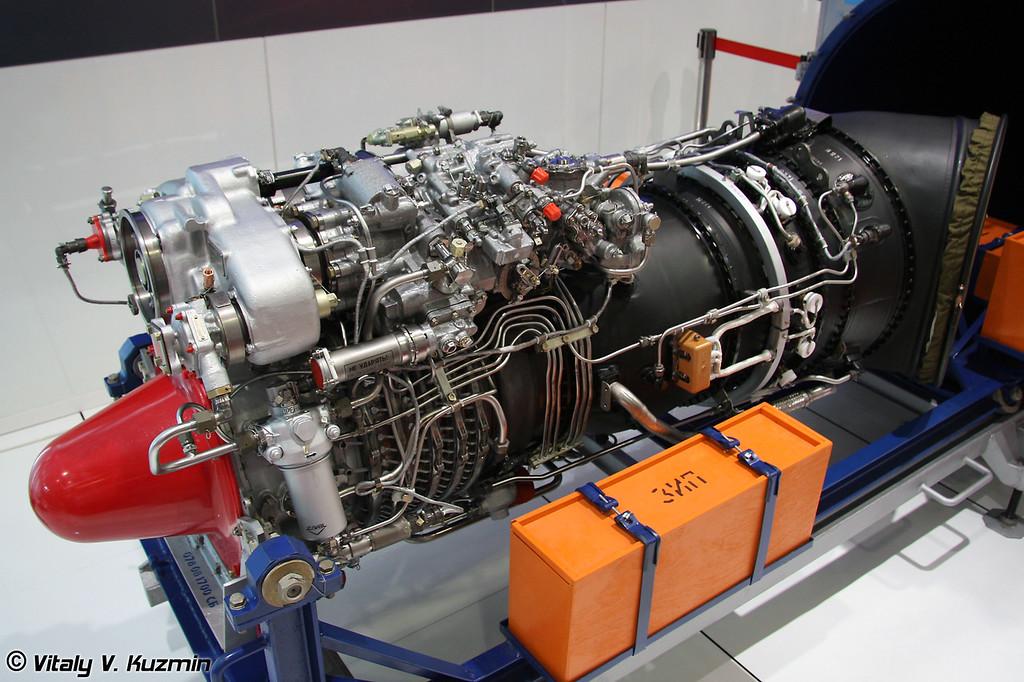 Двигатель ВК-2500 для Ми-17, Ми-35, Ми-28Н и Ка-52 в зависимости от версии (VK-2500 engine for Mi-17, Mi-35, Mi-28N or Ka-52 depends on the modification)