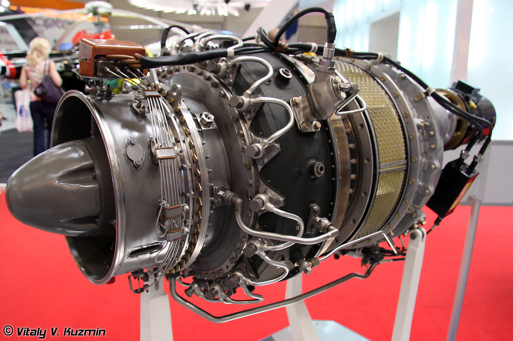 Турбовальный двигатель МС-500В для Ми-54 (Turboshaft engine MS500V for Mi-54)