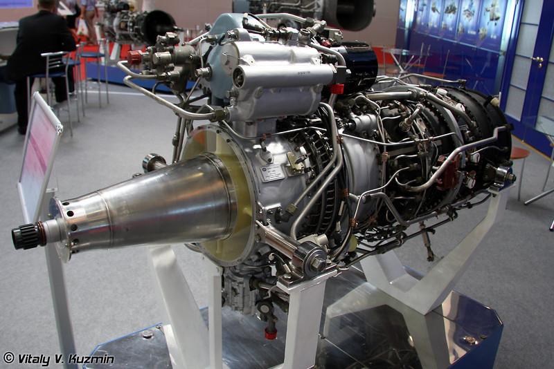 Турбовальный двигатель МС-14ВК для Ка-62 (Turboshaft engine MS-14VK for Ka-62)
