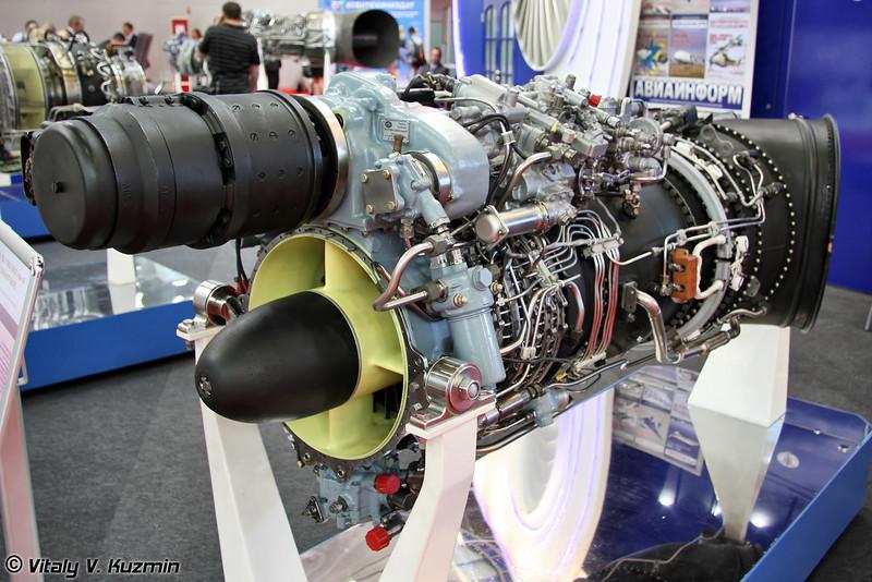Турбовальный двигатель ТВ3-117ВМА-СБМ1В серии 4Е для Ми-8Т. (Turboshaft engine TV3-117VMA-SBM1V series 4E for Mi-8T)