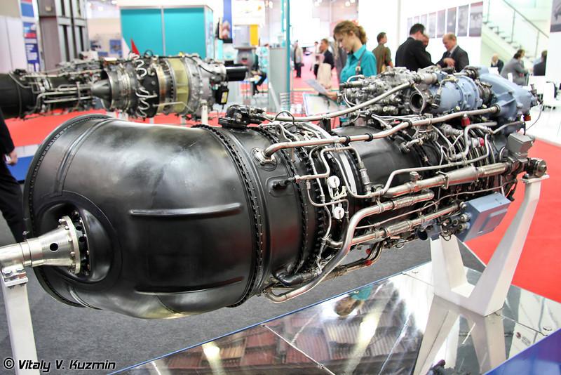 Турбовальный двигатель ТВ3-117ВМА-СБМ1В. (Turboshaft engine TV3-117VMA-SBM1V)