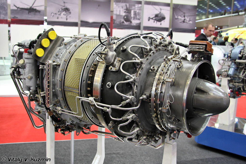 Турбовальный двигатель МС-500В. (Turboshaft engine MS-500V)