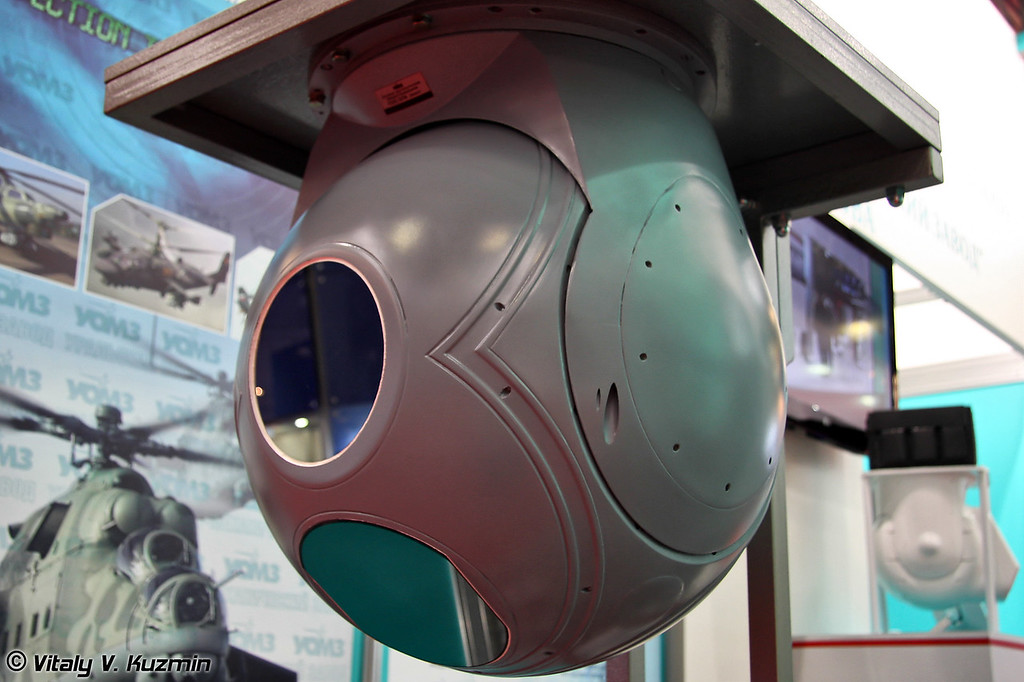Круглосуточная обзорно-поисковая система ГОЭС-337М (Day-and-night observation and sight system GOES-337М)