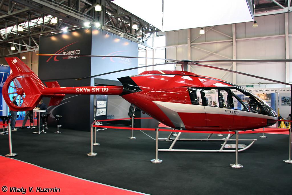 Прототип Marenco SKYe SH09 (Marenco SKYe SH09 prototype)
