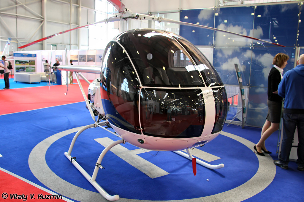 Легкий вертолет АК 1-3 (Light helicopter AK 1-3)