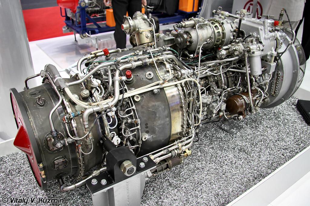Двигатель ТВ7-117В для Ми-38 (TV7-117V engine for Mi-38)
