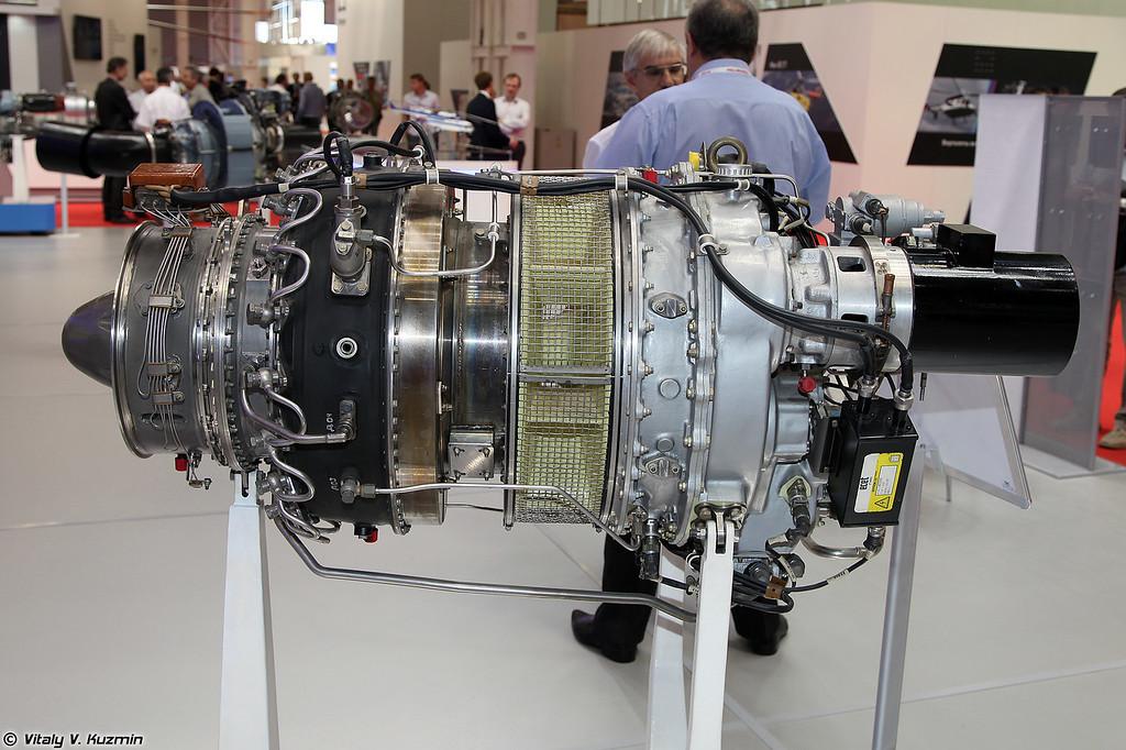 Турбовальный двигатель МС-500В (Turboshaft engine MS-500V)