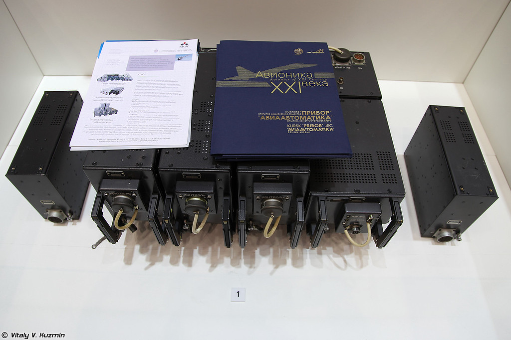 Система управления оружием 806П из состава вертолета Ка-52 (Weapon control system 806P for Ka-52)