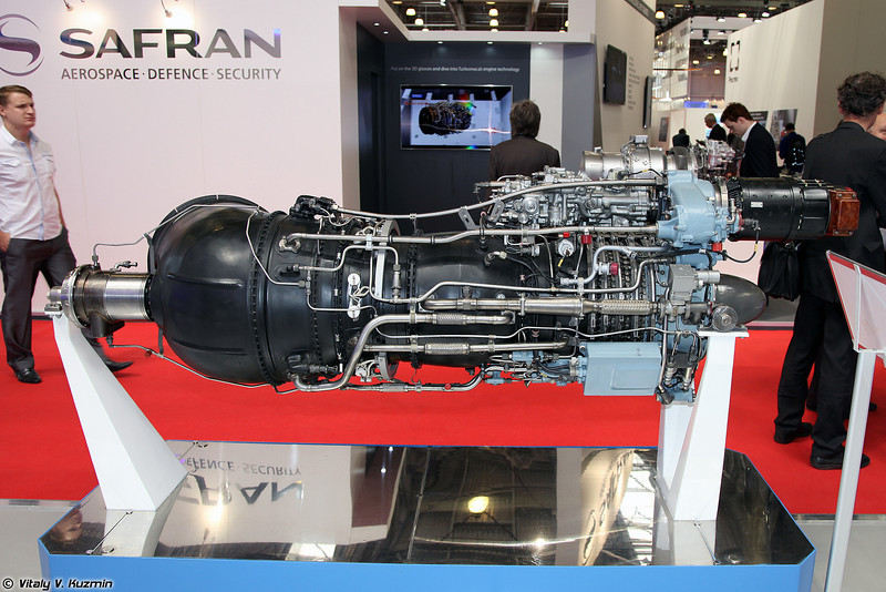 Турбовальный двигатель ТВ3-117ВМА-СБМ1В серии 4Е (Turboshaft engine TV3-117VMA-SBM1V 4E series)