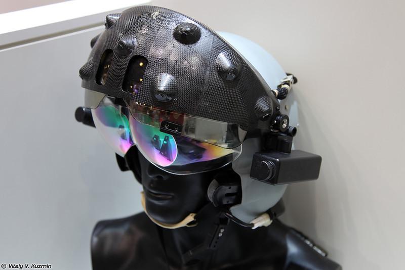 Нашлемная система целеуказания и индикации для пилота вертолета (Helmet-mounted target designation and indication system for helicopters)