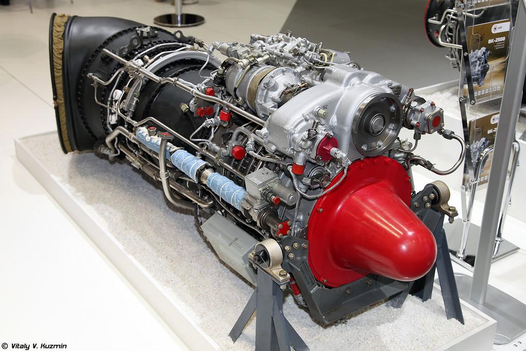 Двигатель ВК-2500П (VK-2500P engine)