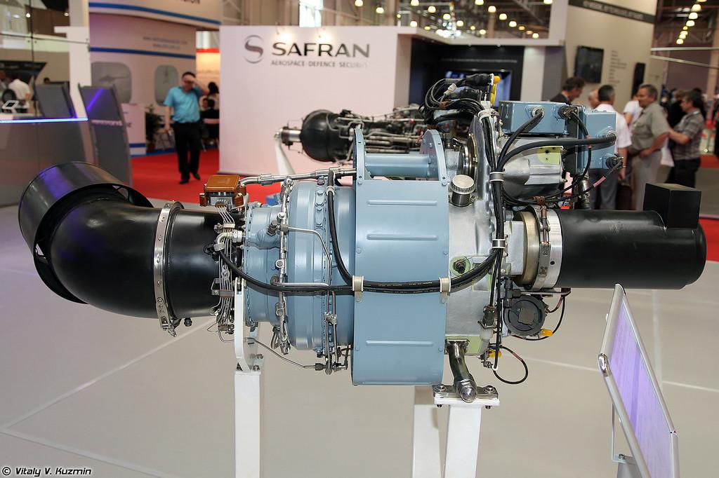 Турбовальный двигатель АИ-450М (Turboshaft engine AI-450M)