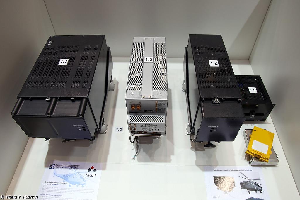 Прицельно-вычислительный комплекс ПрВК-24 (Sighting computer system PrVK-24)