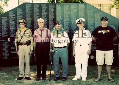 10Sep4 3rd Army Ft Oglethorpe 6th Vietnam Wall 011e
