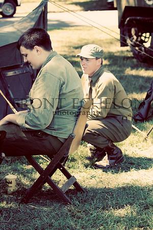 10Sep4 3rd Army Ft Oglethorpe 6th Reenactors 092e