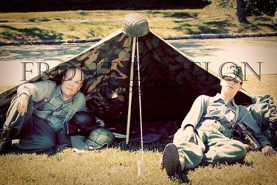 10Sep4 3rd Army Ft Oglethorpe 6th Reenactors 077e