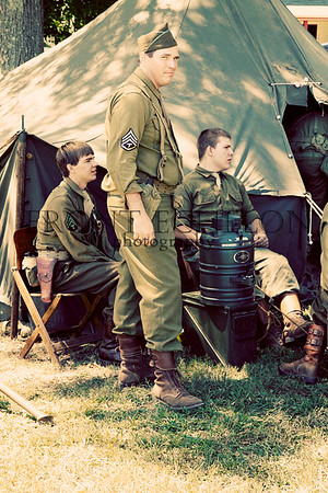 10Sep4 3rd Army Ft Oglethorpe 6th Reenactors 061e