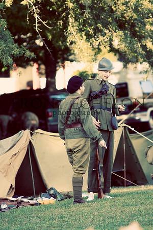 10Sep4 3rd Army Ft Oglethorpe 6th Reenactors 015e
