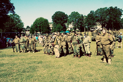 10Sep4 3rd Army Ft Oglethorpe 6th Reenactors 053e