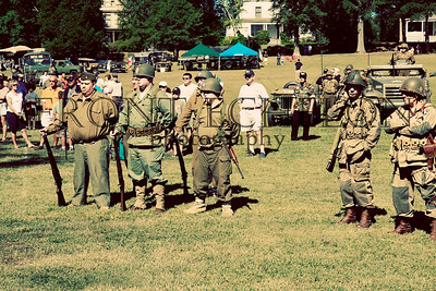 10Sep4 3rd Army Ft Oglethorpe 6th Reenactors 051e