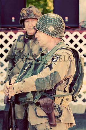 10Sep4 3rd Army Ft Oglethorpe 6th Reenactors 108e