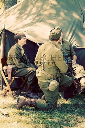 10Sep4 3rd Army Ft Oglethorpe 6th Reenactors 063e