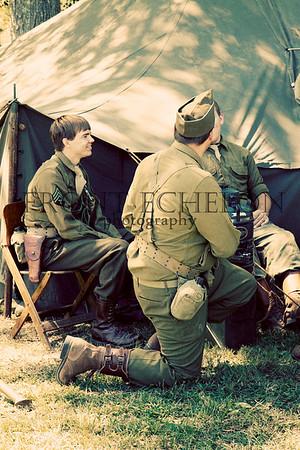 10Sep4 3rd Army Ft Oglethorpe 6th Reenactors 063e
