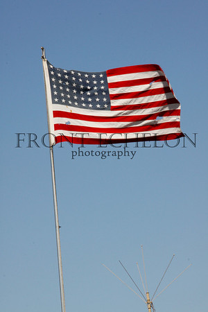Notice how many stars are on this flag.