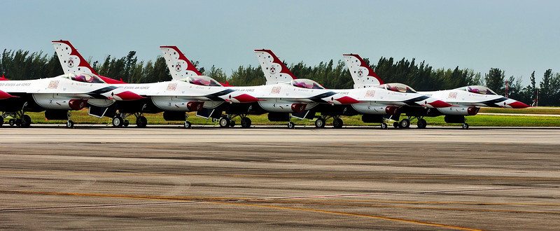 Homestead Air Force Reserve Base -  Air Show