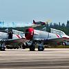 SNJ-2& Soviet Yak-50 Trainer in attack mode