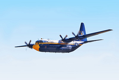 Fat Albert support craft for Blue Angles