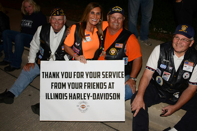 Honor Flight - Midway Airport - June 4, 2014