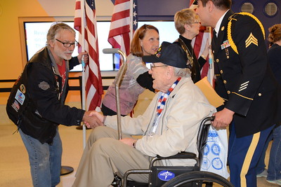 Honor Flight - Midway Airport - May 11, 2016
