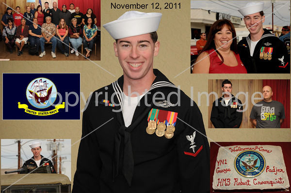 Honoring Corpsman Robert Croonquist 11-12-11