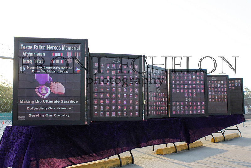 """Texas Fallen Military Memorial wall displays all those killed in the Iraq and Afghanistan conflicts. Please visit <a href=""""http://texasfallenmilitary.org/Meet_the_Team.html"""">http://texasfallenmilitary.org/Meet_the_Team.html</a>"""