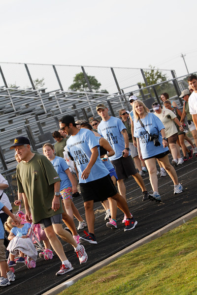 Watermelon Run for the Fallen first track lap