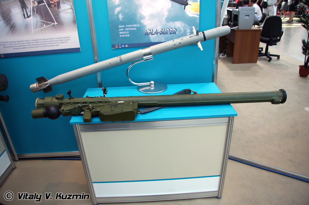 Игла-С (IGLA-S man-portable air defence missile system)