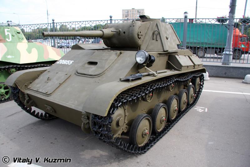 Танк Т-70 (T-70 tank)