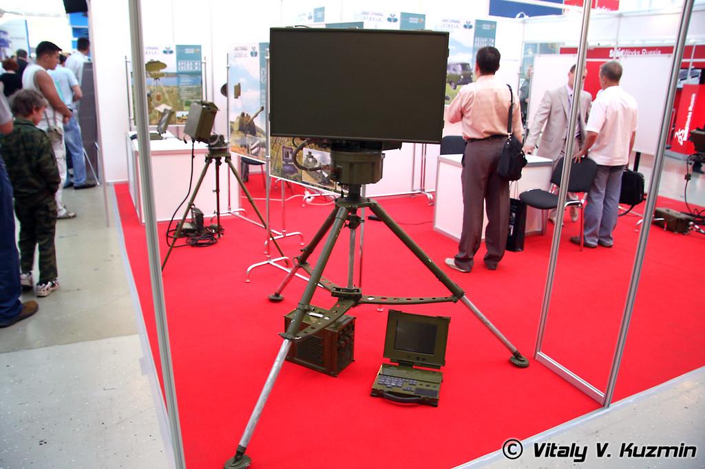 РЛС разведки движущихся наземных целей Кредо-1Е (Multirole moving ground target reconnaissance radar Credo-1E)