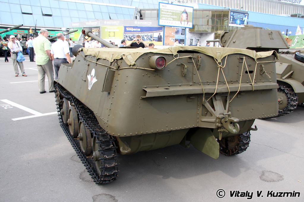АСУ-57П (ASU-57P self-propelled artillery)