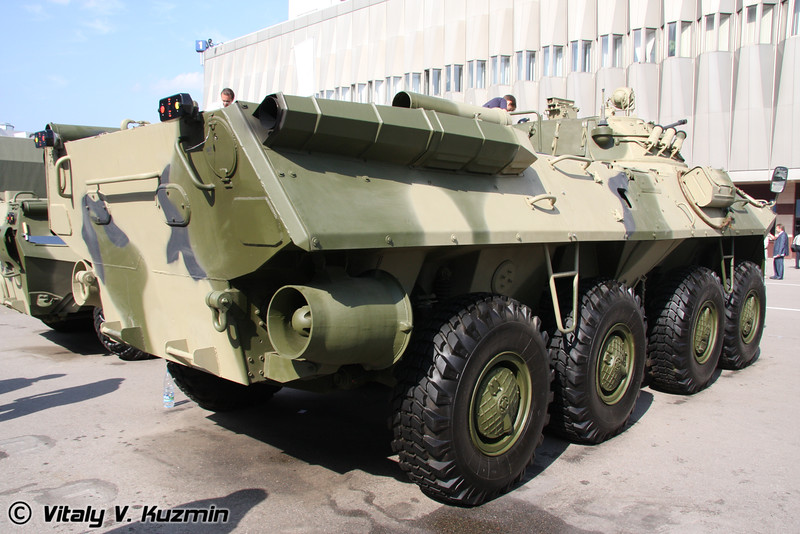 Бронетранспортер БТР-90 (BTR-90 armored personnel carrier)