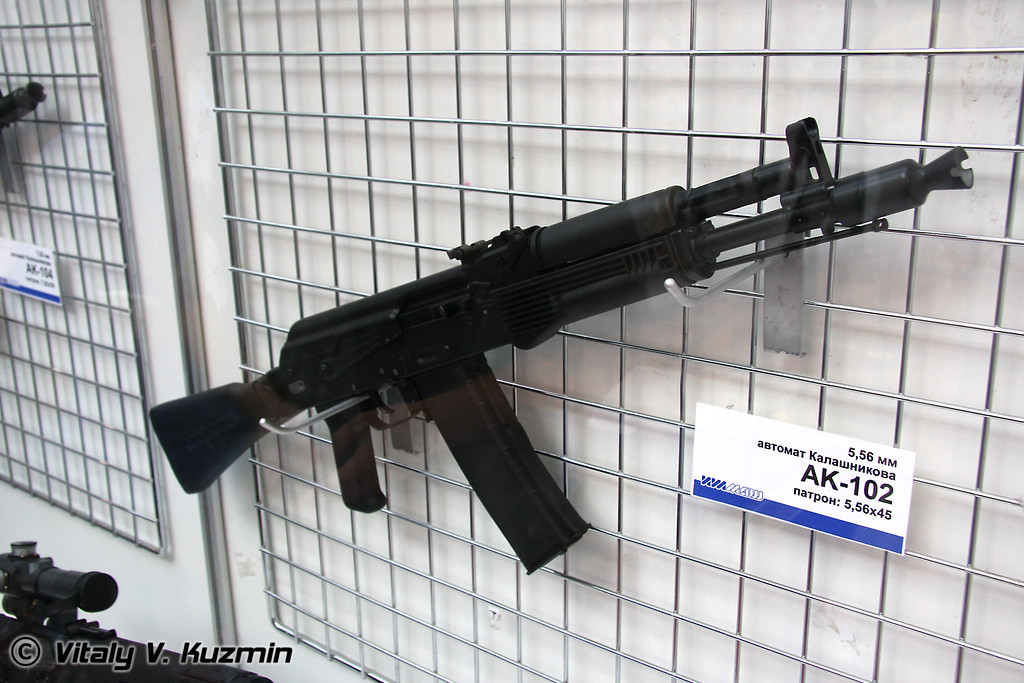 Автомат АК-102 (AK-102 assault rifle)