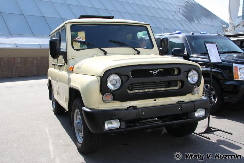СБА-4М на шасси УАЗ 315195 (SBA-4M on UAZ-315195 chassis)